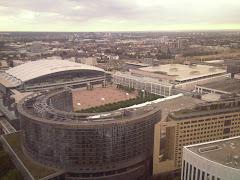 Frankfurt dari hotel Marriot