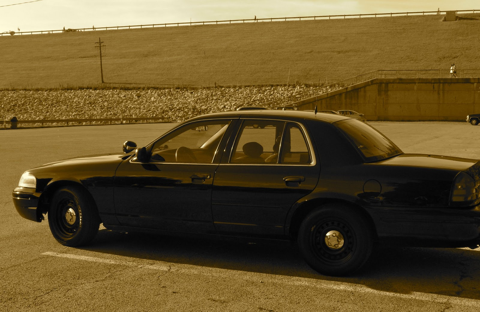 The flip 2002 ford crown victoria p71 police interceptor a k a the cop car