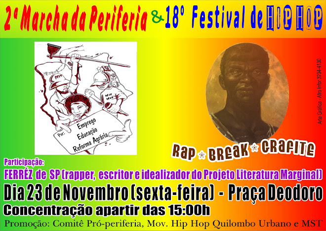 18º Festival de Hip Hop ZUMBI