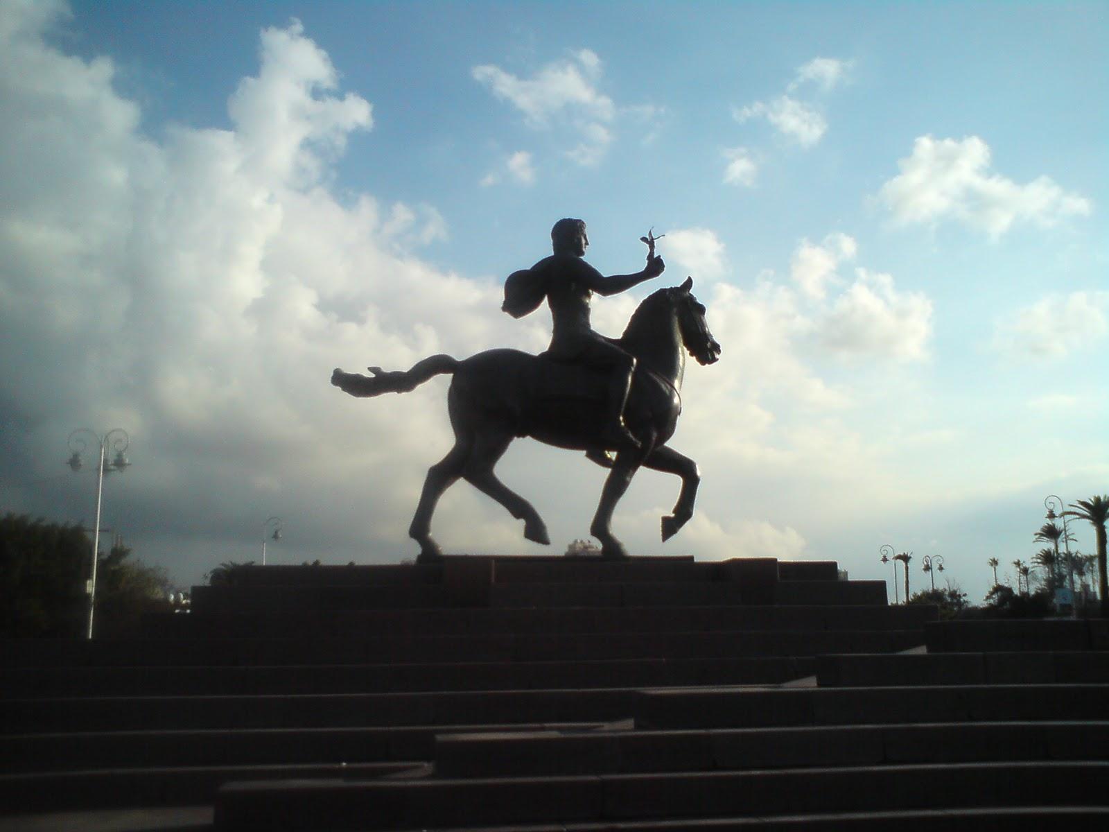 تمثال الاسكندر الاكبر - باب شرق