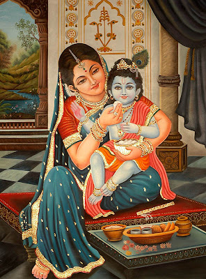 Yashoda+krishna+images