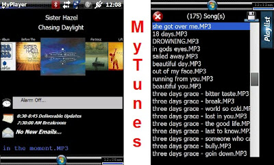 windows mobile music player mytunes