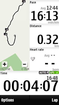 Sports tracker nokia