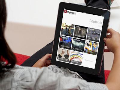 Flipboard iPad app.