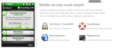 Lookout free mobile antivirus