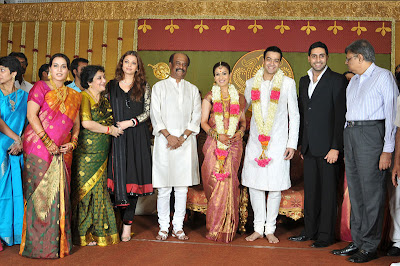 Rajnikanth daughter wedding photos