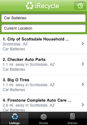 irecycle iphone app