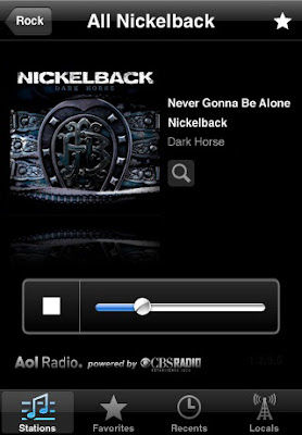 AOL Radio iPhone app