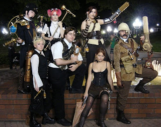 Steampunk evening out