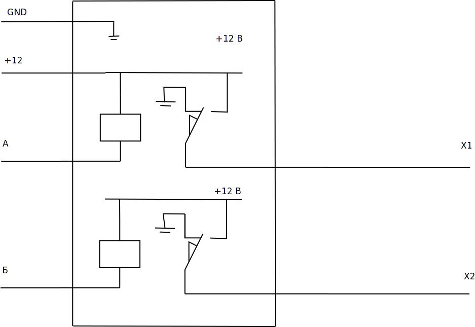 электрическая схема мерседес