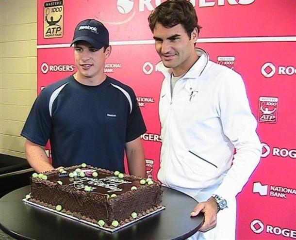 Roger Federer Birthday Cake