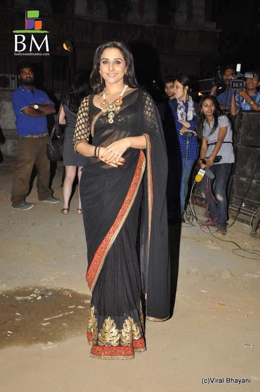 Vidhya balan at th Idea Filmfare Awards photos hot images