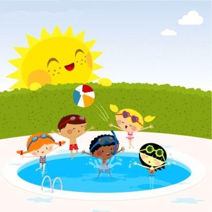 Dibujo ni os piscina imagui for Clases de piscina para bebes