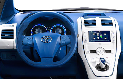 Facelifted 2010 Toyota Auris: All The Details, Full-Hybrid Version