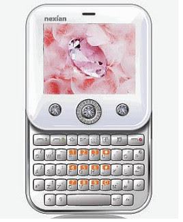 Nexian She or Nexian NX-G788 Just For Women Phone