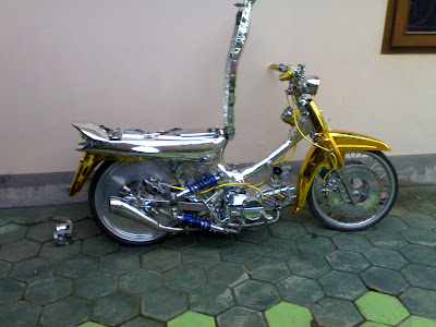 Yellow chrome full body modification  in grand 2000