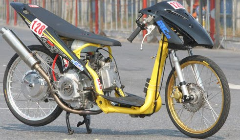APicture Matic Modification Racing Drag Look Concept