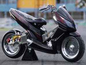 Vario Matic Modification Low Rider From Jakarta