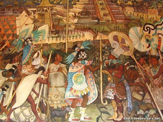 Pin mural de diego rivera palacio nacional mexicano on for Mural mexicano