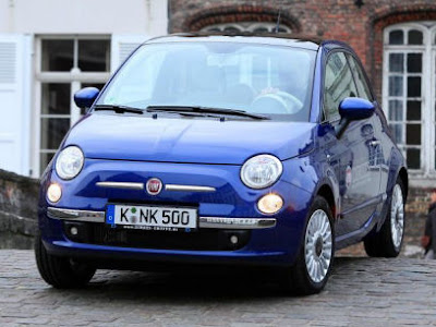 "New Fiat 500 ""Rhapsody in Blue"""