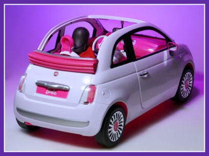 5ooblog fiat 5oo new fiat 500 barbie car. Black Bedroom Furniture Sets. Home Design Ideas