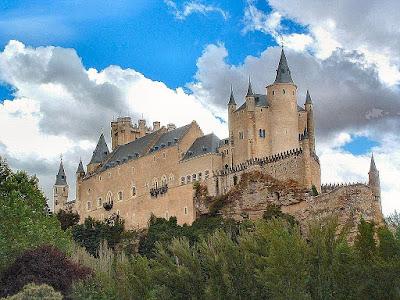 Alcácer de Segovia, Espanha, castelos medievais