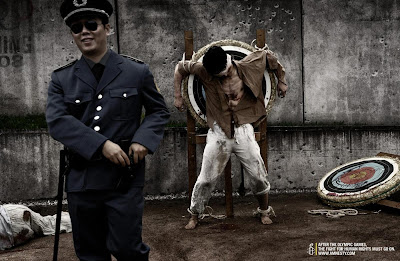 Amnesty International, tiro ao alvo, pesadelo chinês