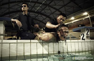 Amnesty International, natação, pesadelo chinês