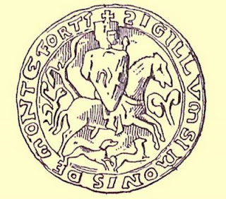 Simon de Montfort, selo, Heróis Medievais