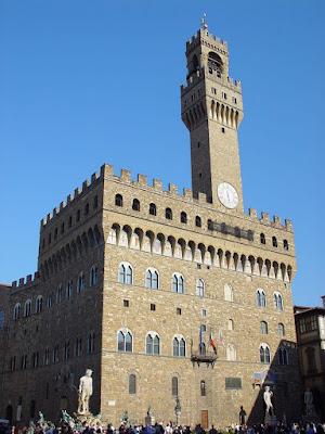 Palácio da Signoria, Florença, a Cidade Medieval