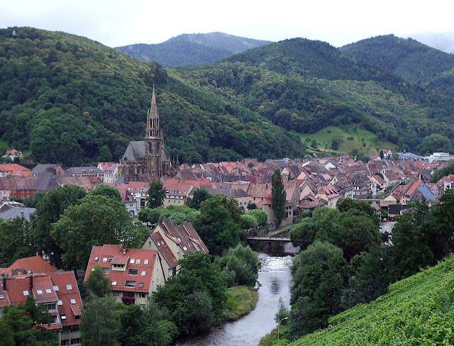 Thann, Alsacia, A cidade medieval