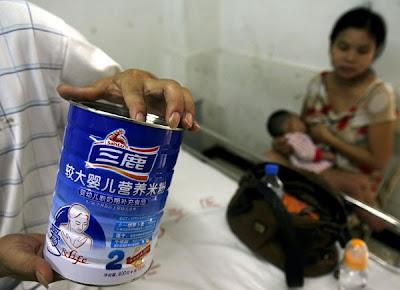 Leite contaminado num hospital de Wuhan