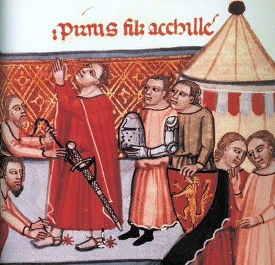 Sagração de um cavaleiro
