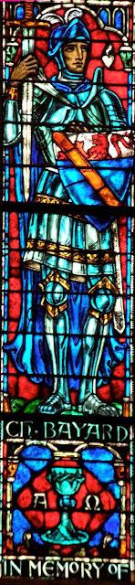 Bayard, vitral na capela da Universidade de Princeton