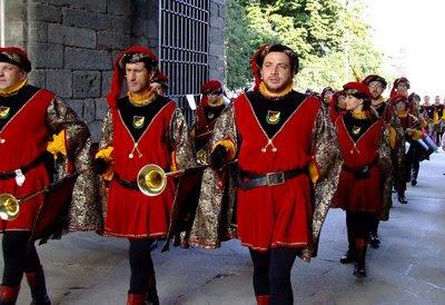 Milão, re-encenação confraria medieval