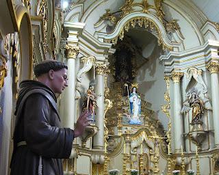 Frei Galvão no convento da Luz