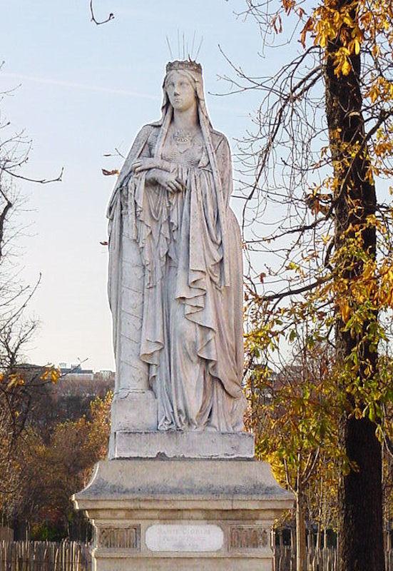 Santa Clotilde, jardim do Luxemburgo, Paris