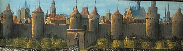As muralhas eram um símbolo e uma garantia da autonomia da cidade, inclusive face aos reis