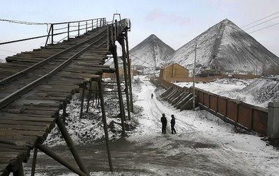 Mina de Dongfeng, onde morreram mais de 100 mineradores