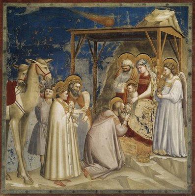 Adoração dos Reis Magos, Giotto