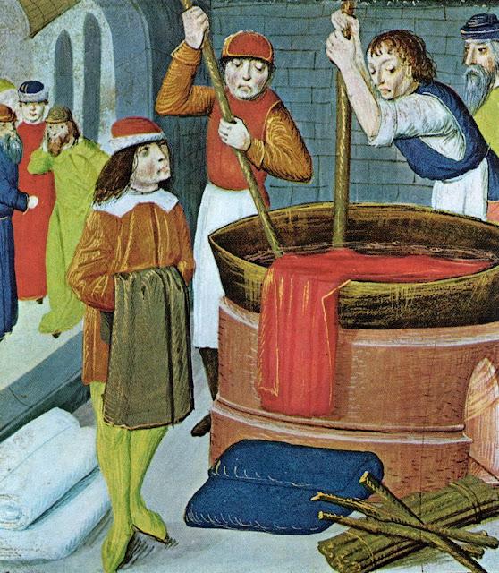Tintureiros da Idade Média