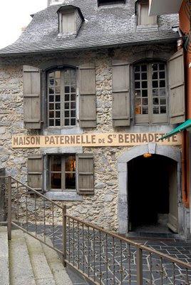 Lourdes, casa paterna de Santa Bernadette