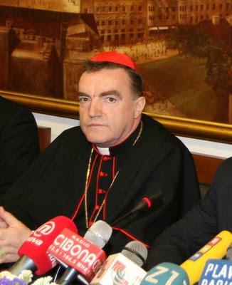 Cardeal Josip Bozanic, arcebispo de Zagreb