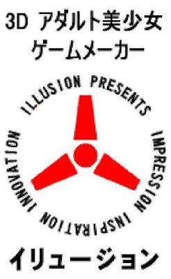 Logo da empresa japonesa fabricante do jogo perverso