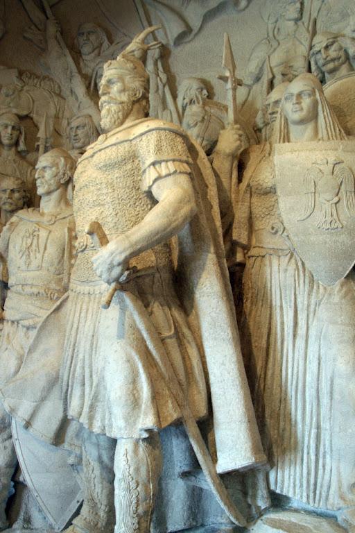 Skanderbeg, George Castriota, museu de Kruja, Albânia,