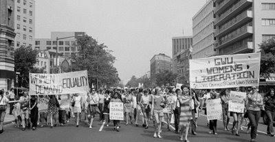 Passeata feminista, Washington 1970