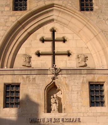 Cruz de Lorena, Nancy, Porte de la Craffe