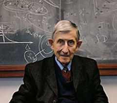 Freeman Dyson, da US National Academy of Sciences e professor emérito de Física de Princeton: