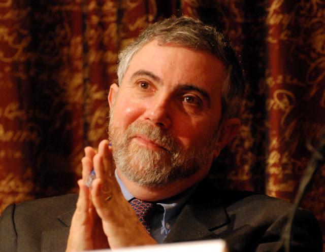 """Paul Krugman: quem se opõer aos planos anti-CO2 faz """"traição contra o planeta"""" e """"deve ser detido a todo custo!"""" Para Tipler, Krugman está desligado da realidade."""