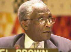 Noel Brown, ex-diretor do Programa de Meio Ambiente da ONU: